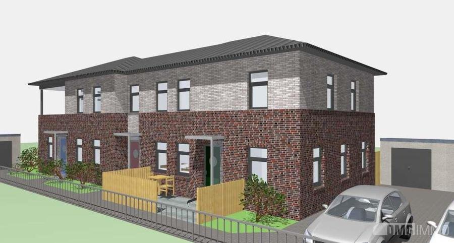 moderne penthouse wohnung, moderne penthouse-wohnung in ruhiger lage von norden (norden), Design ideen